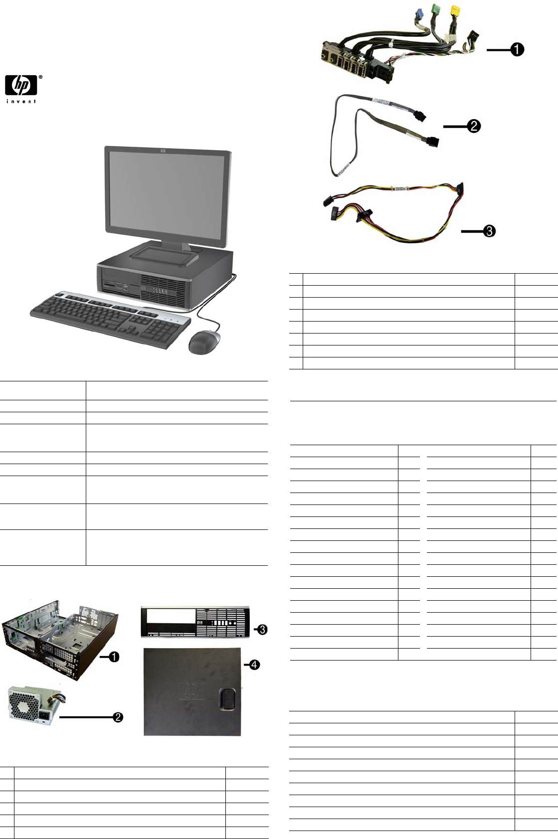 Hp Compaq 8000 Elite Small Form Factor Pc Service And