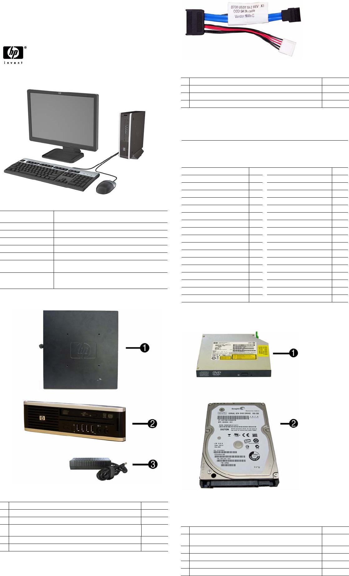 Hp Compaq 8000 Elite Ultra Slim Pc Service And Maintain PlanetsII
