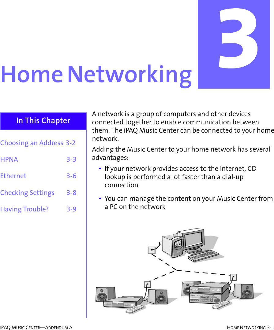 Hp Compaq Ipaq Music Mc 1 User Guides Addendum Center