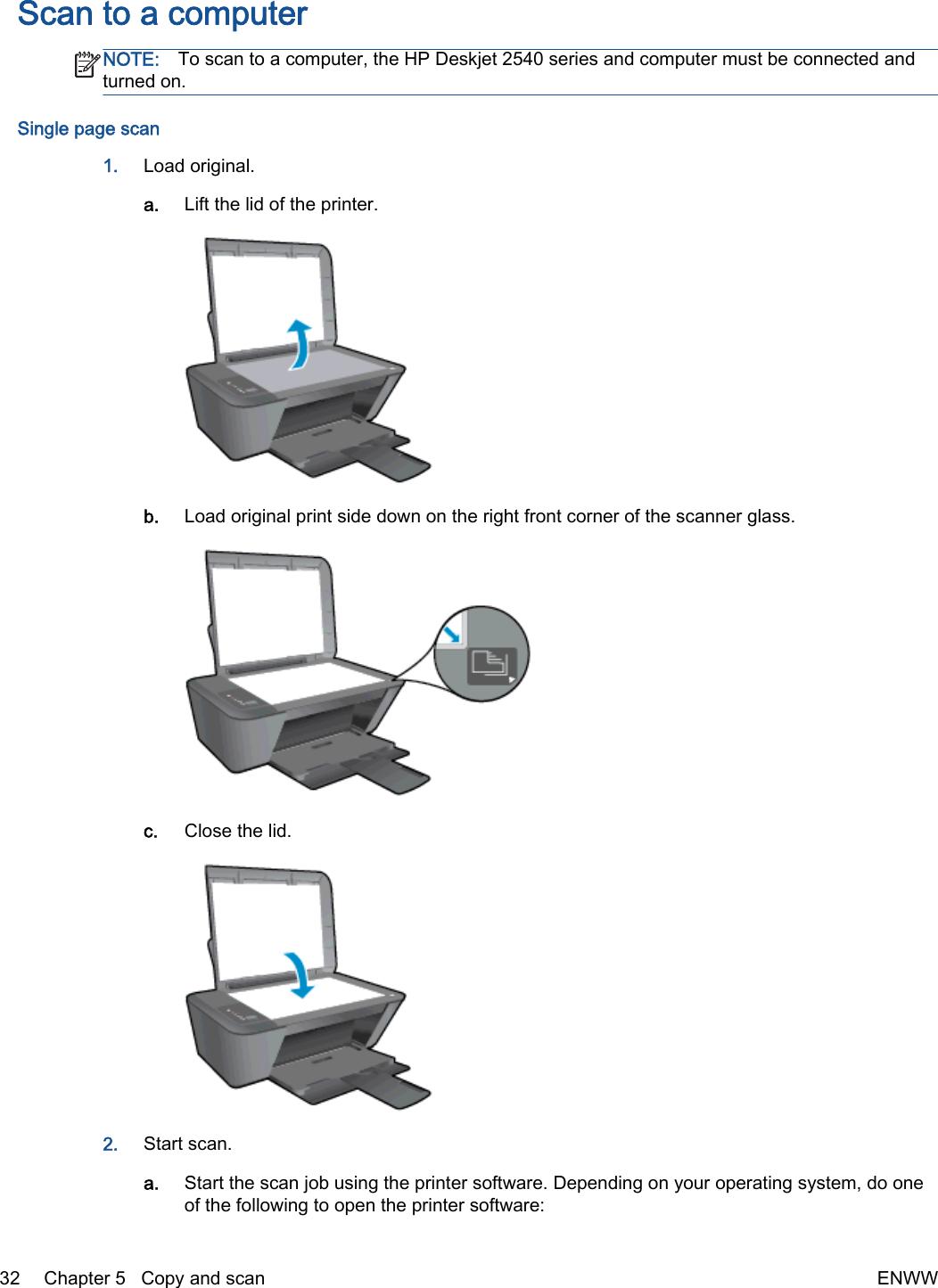 Hp Deskjet 2540 Users Manual ManualsLib Makes It Easy To