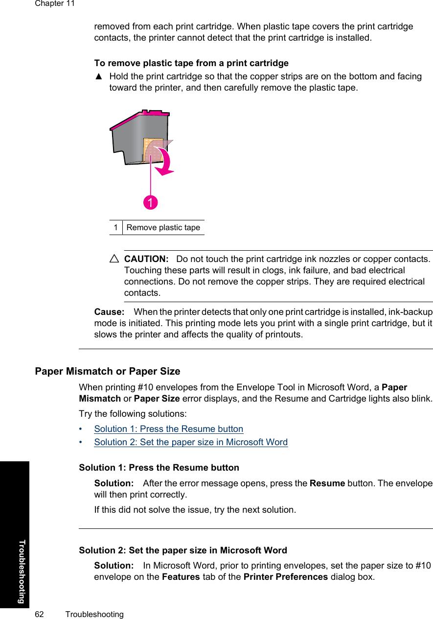 Hp Deskjet D730 Users Manual