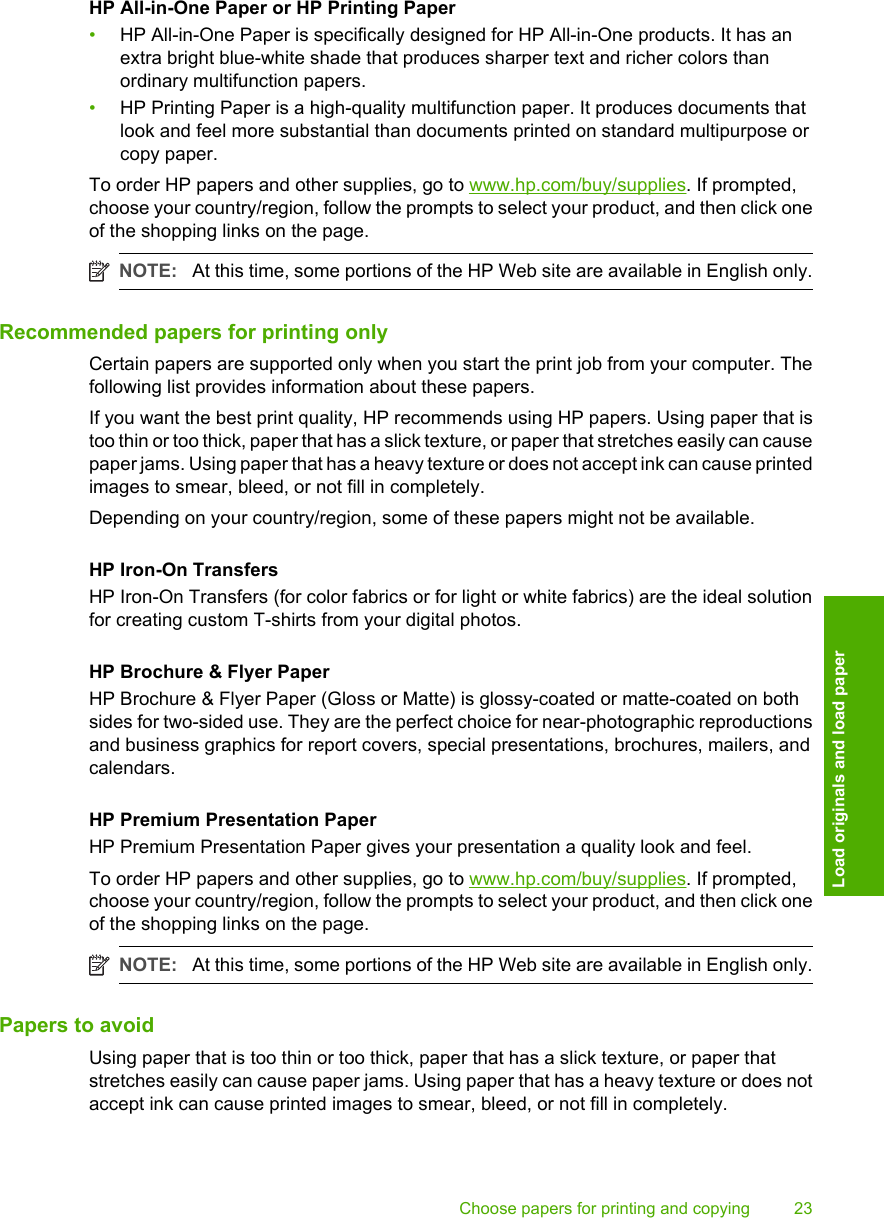 Hp Deskjet F4235 All In One Printer Users Manual