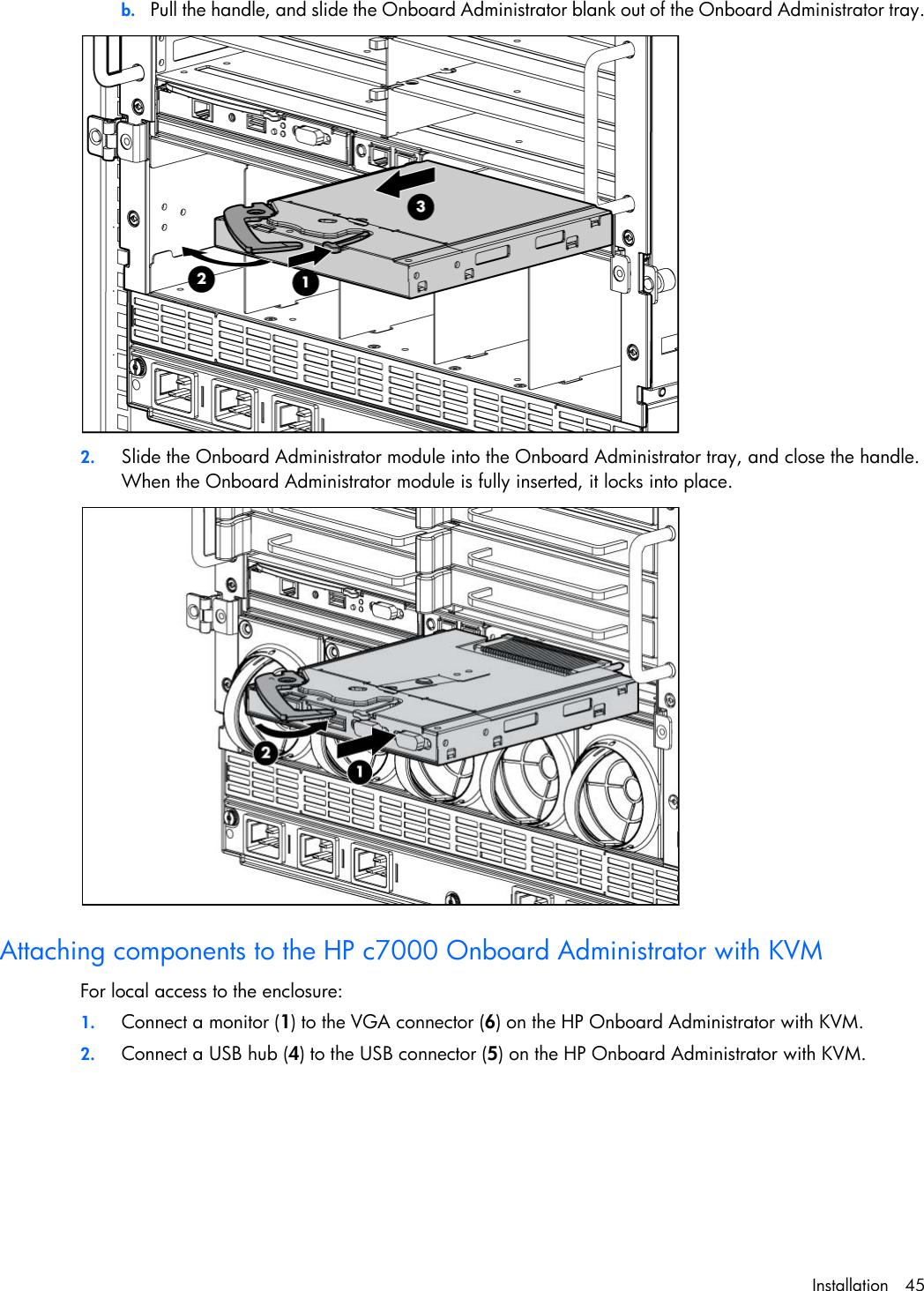 Hp Doll C7000 Users Manual BladeSystem Enclosure Setup And