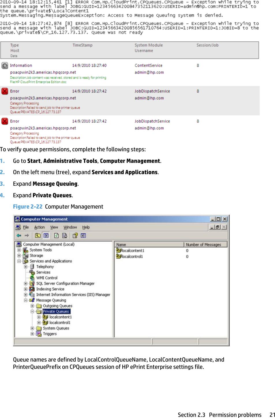 Hp Eprint Enterprise Troubleshooting Guide