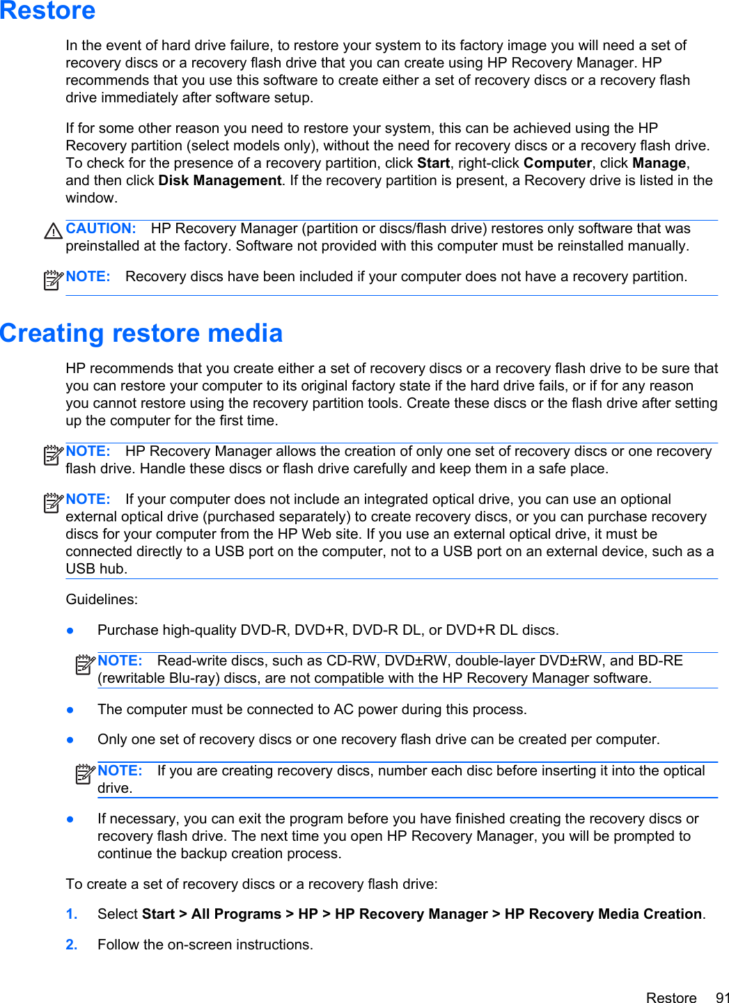 Hp Pavilion G6 Notebook C6P02Ua Users Manual