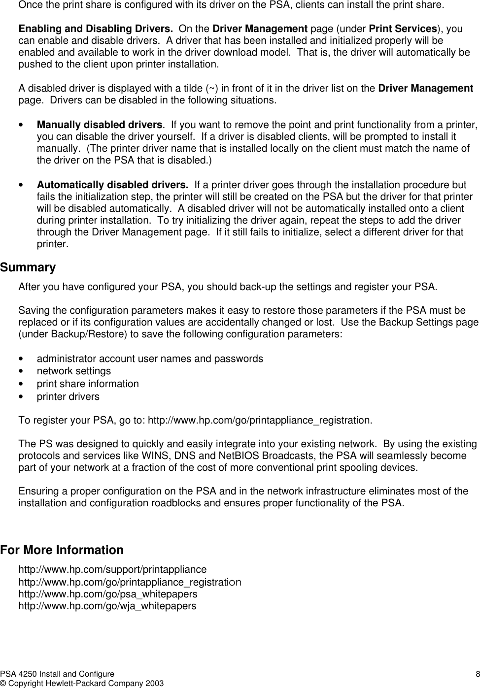 Hp Print Server Appliance 4250 Users Manual Install_configure_24