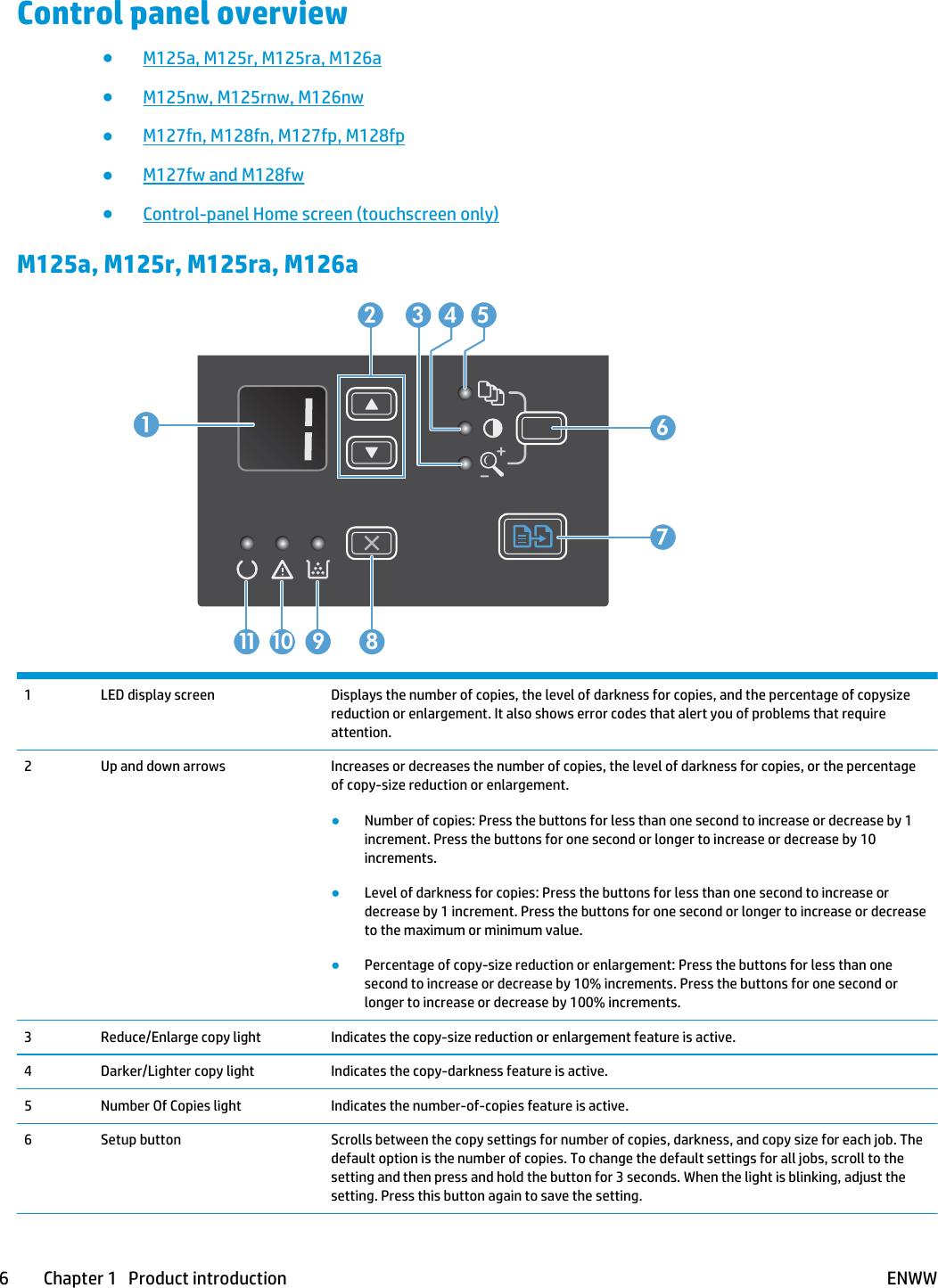 Hp Laserjet Pro Mfp M127Fn Users Manual M125 126/M127 128 User Guide