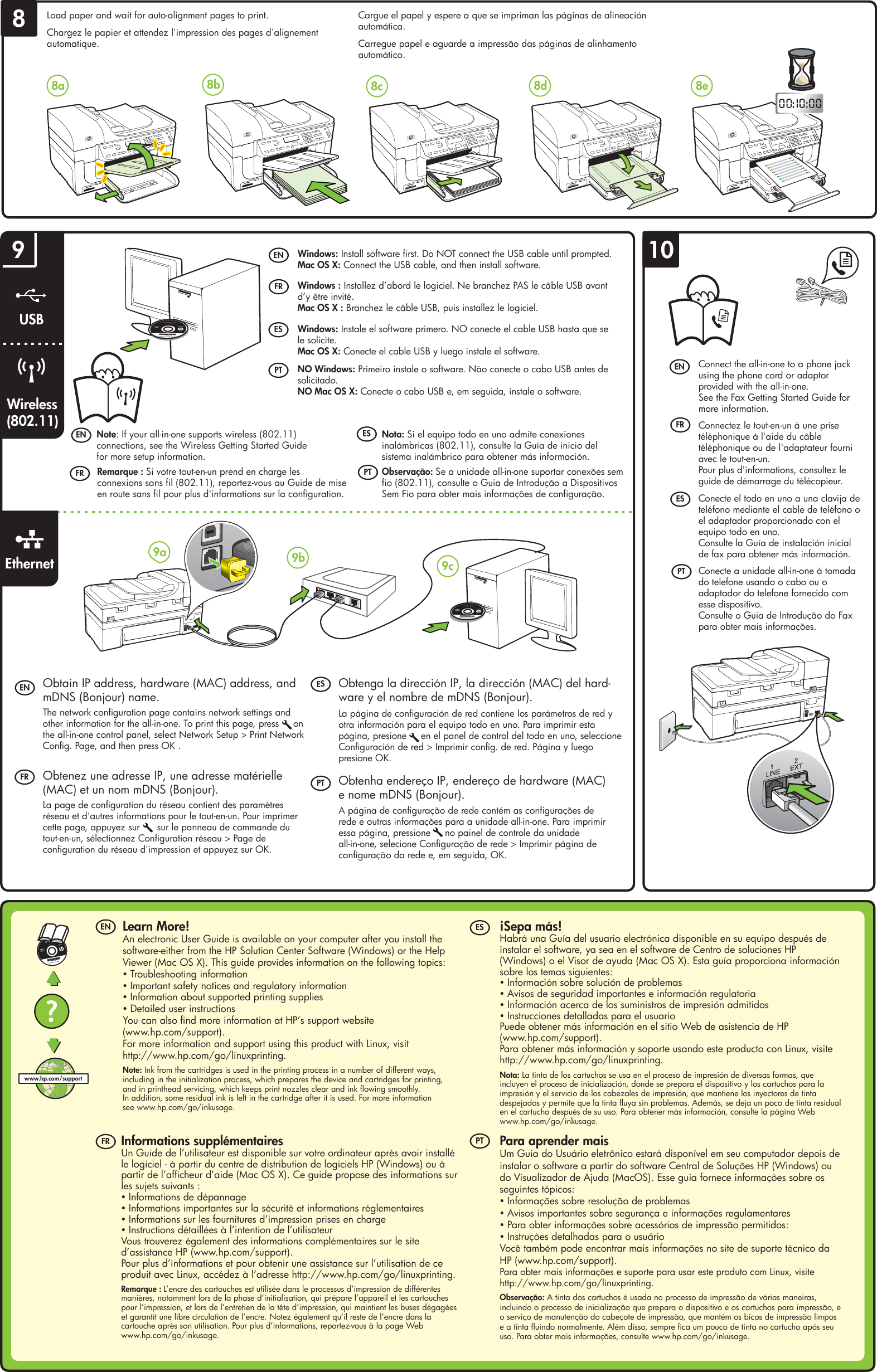 Hp Officejet 6500 Wired All Manual Guide