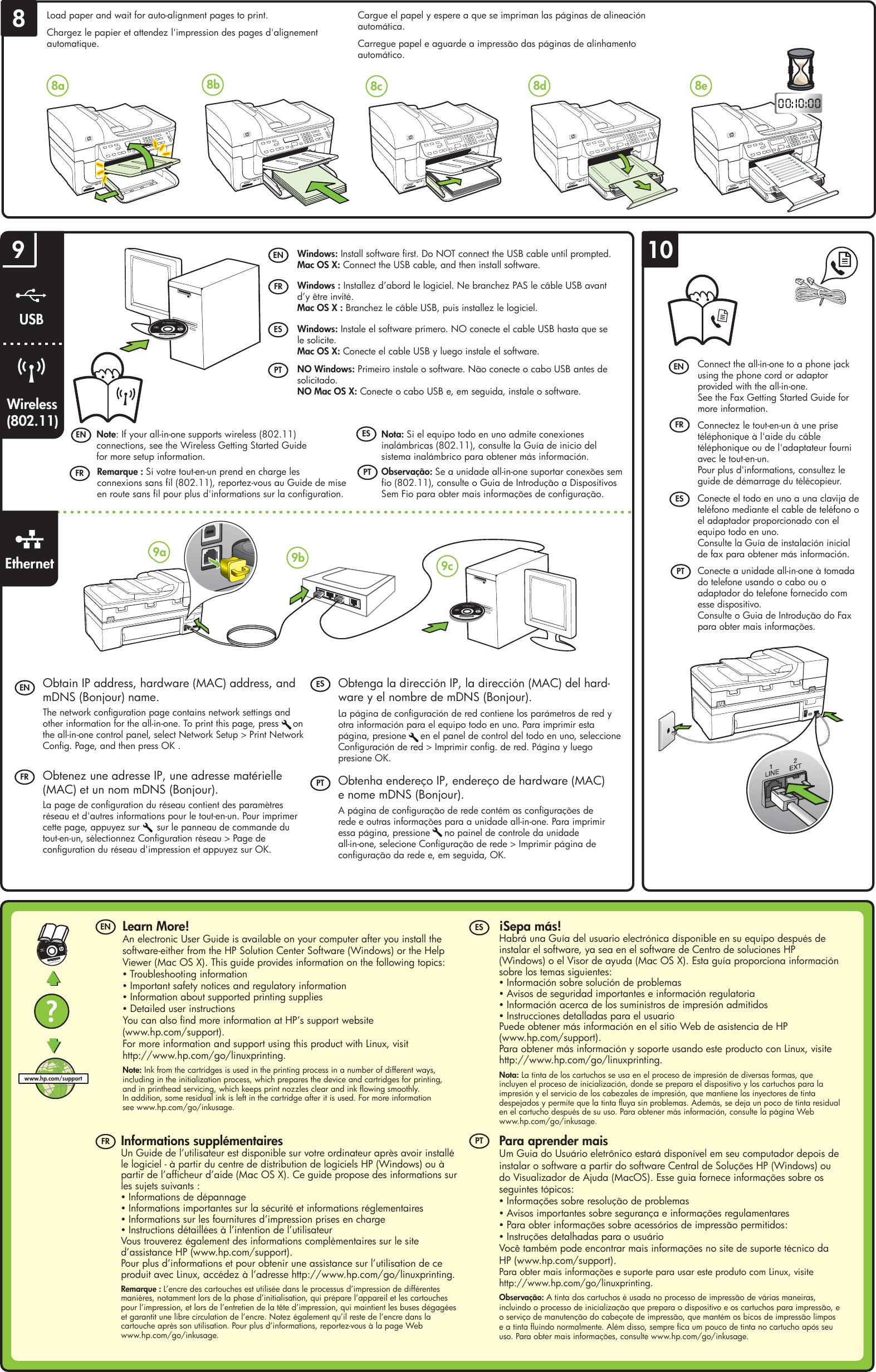 Hp Officejet 6500 E709n All Manual Guide