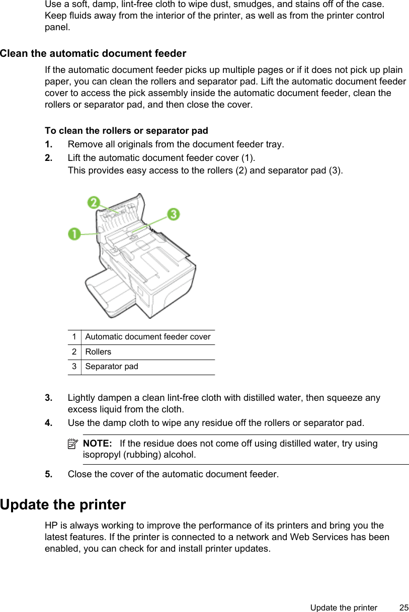 Hp Officejet 6600 E All In One Printer Series H7 Users Manual