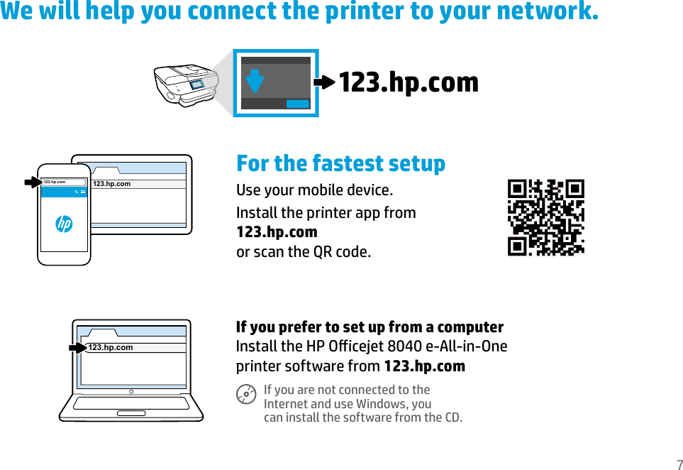Hp Officejet 8040 With Neat E All In One Printer Series Setup Guide