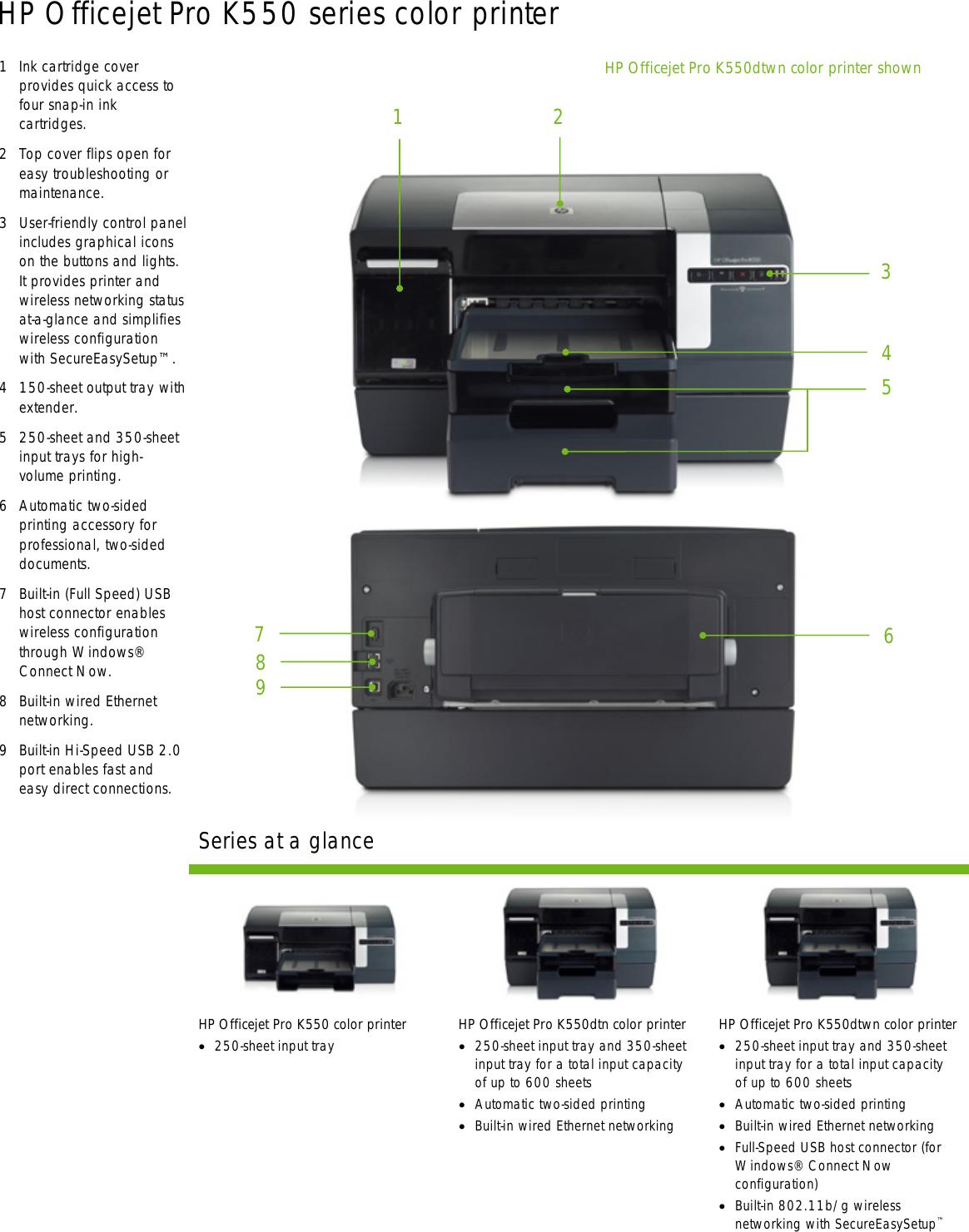 hp officejet pro k550dtn users manual business inkjet 2300 series rh usermanual wiki Inkjet HP 2420D HP Officejet