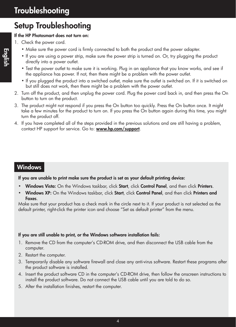 Hp Photosmart C4740 All In One Printer Reference Guide