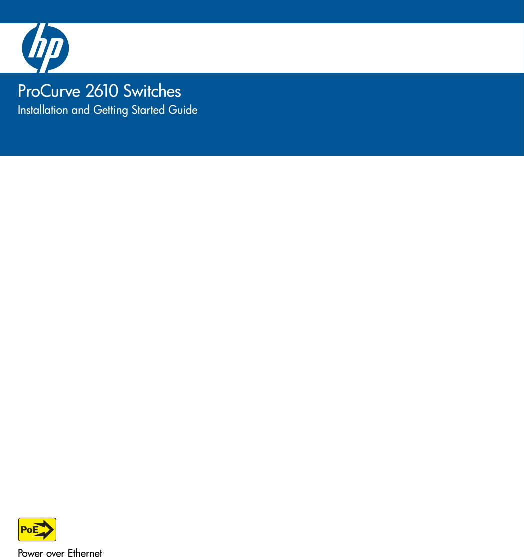 Hp Procurve 2610 Users Manual Install Guide Three Way Switch Miswired