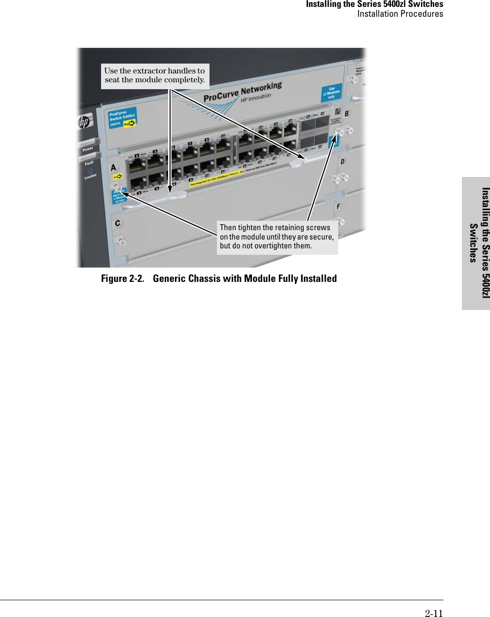 Hp Procurve 5400Zl Users Manual Series Switches Installation And