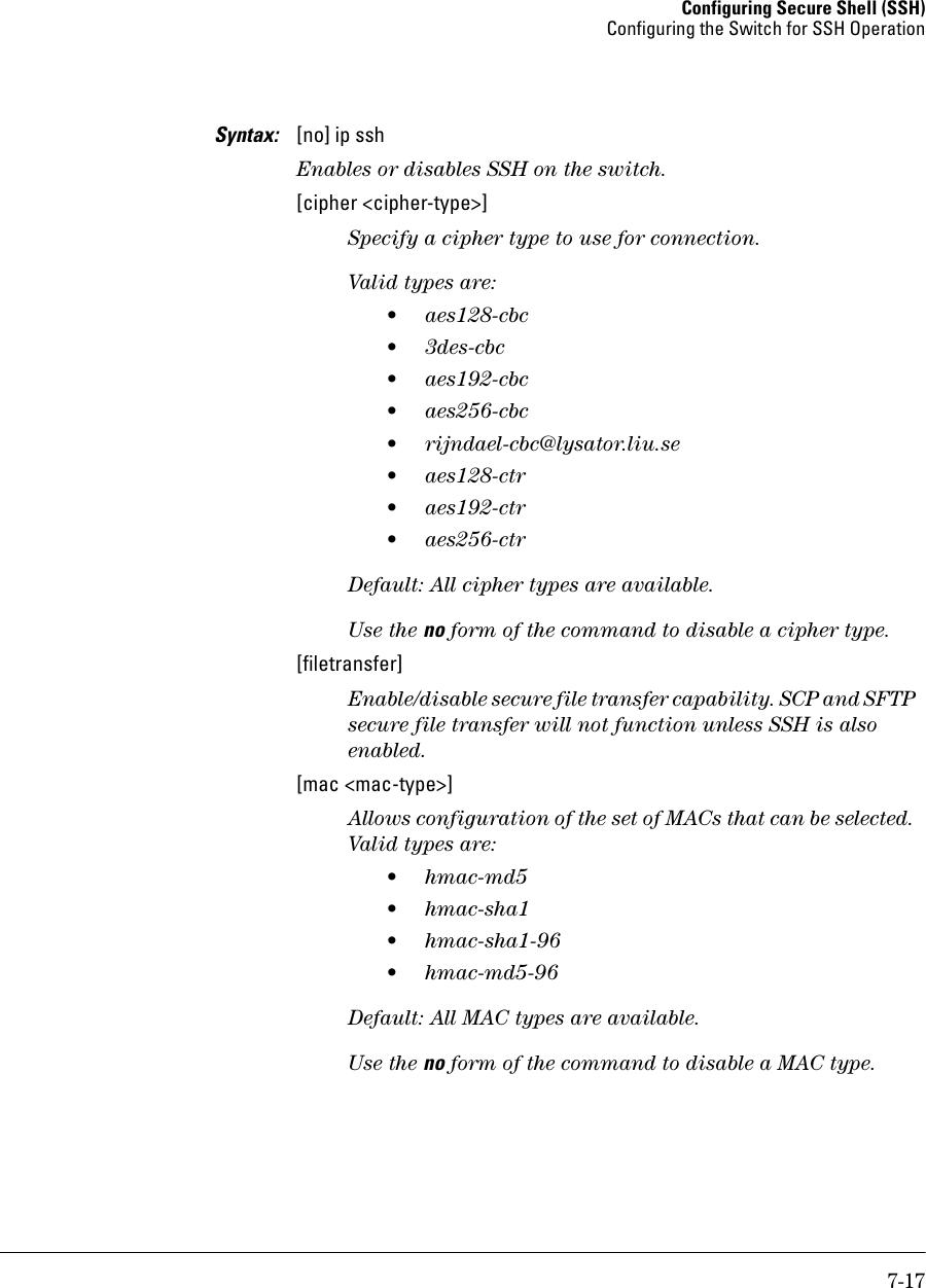 Hp Procurve W 14 03 Users Manual Access Security Guide