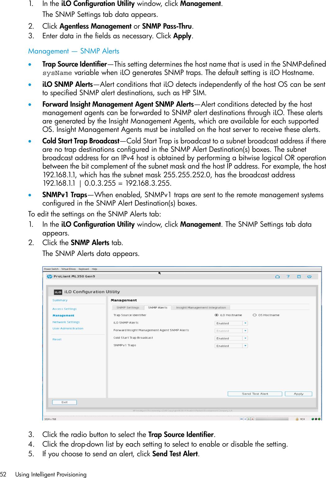 Hp Proliant Xl230A Gen9 Server Users Manual Intelligent
