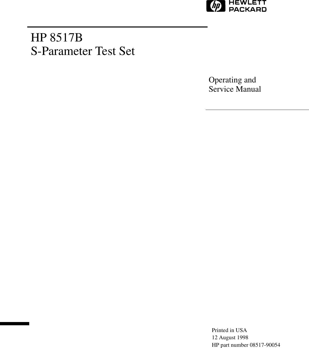 Hp Satellite Tv System 8517b Users Manual Computer Major Componentsitem 1description Display Assemblies Spare