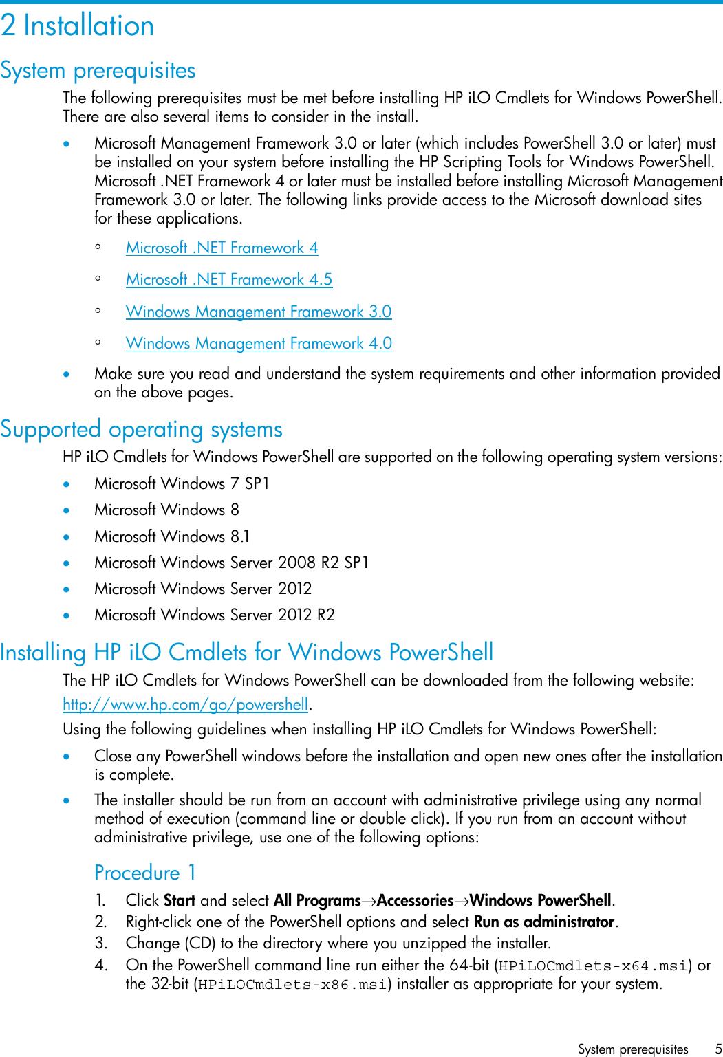 Hp Scripting Tools For Windows Powershell Users Manual User