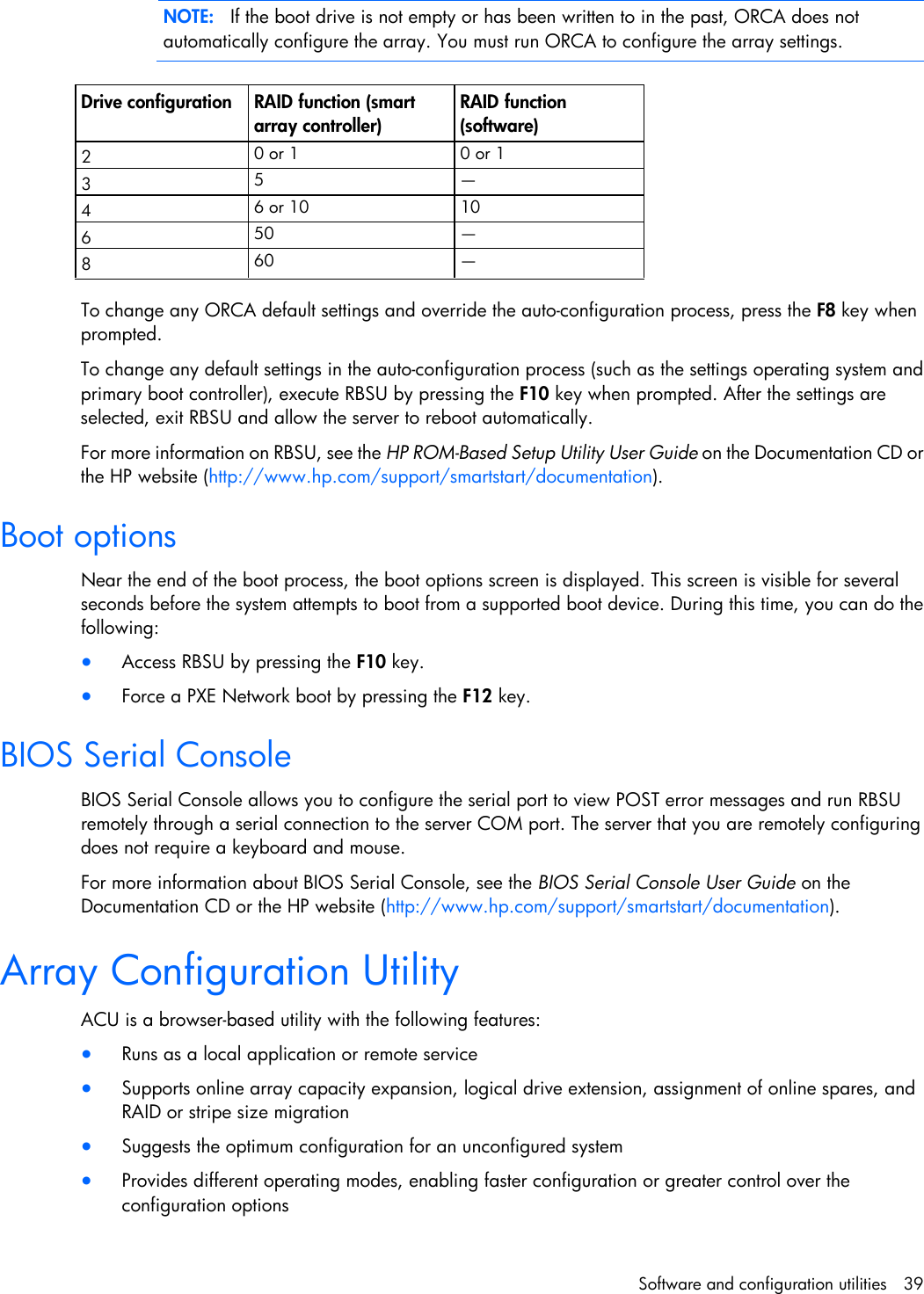 Hp Server Ml110 G6 Users Manual ProLiant ML100 Series User Guide
