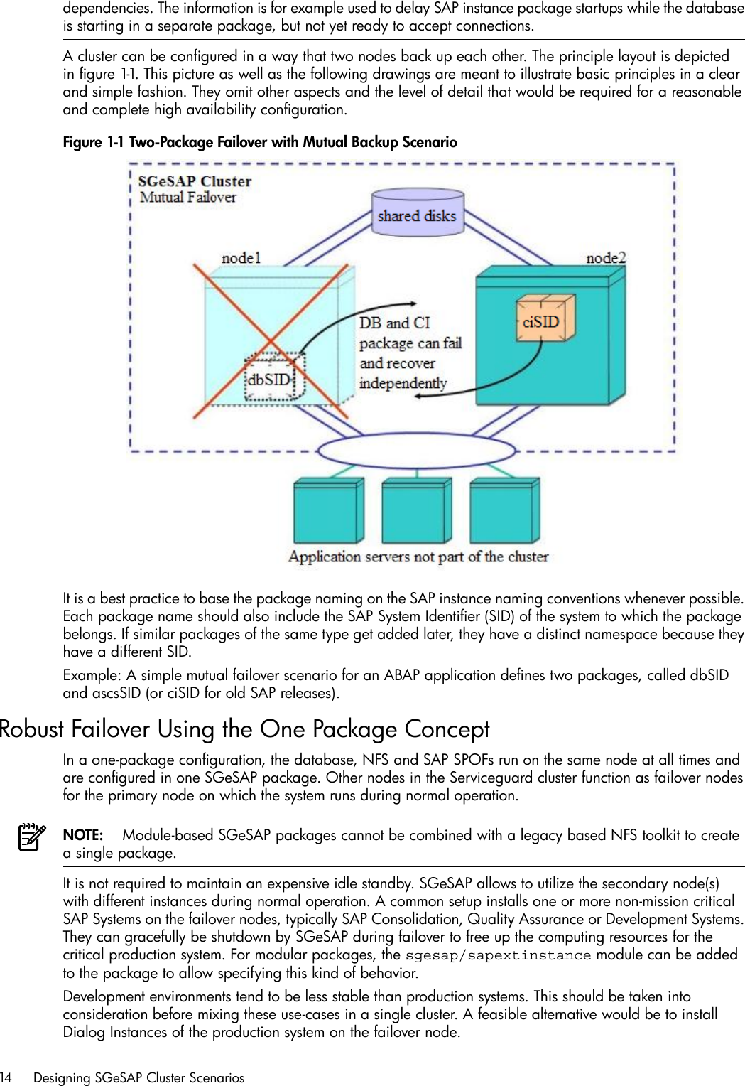 Hp Serviceguard Extension For Sap Sgesap Users Guide