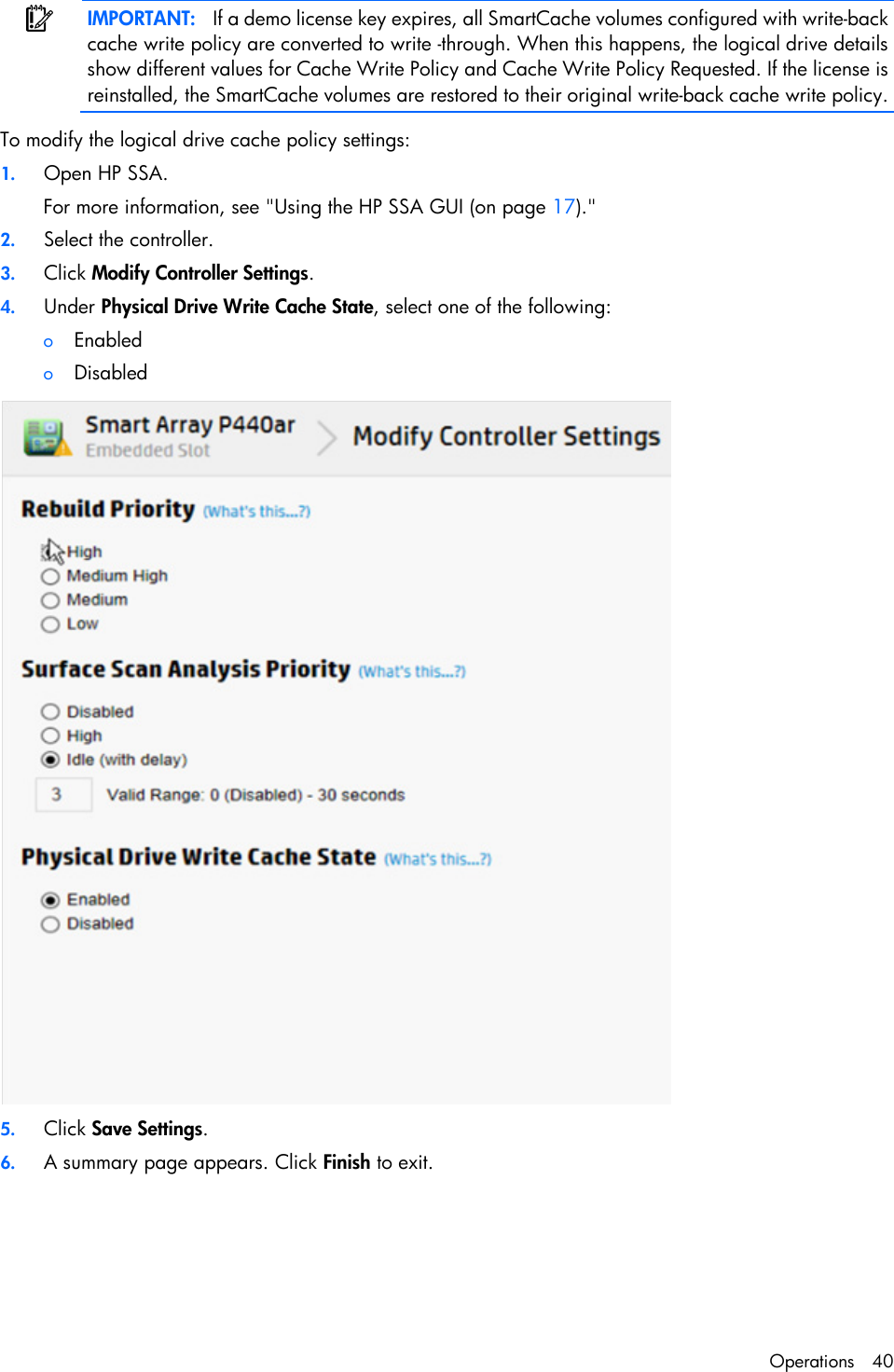 Hp Smart Storage Administrator Users Manual User Guide