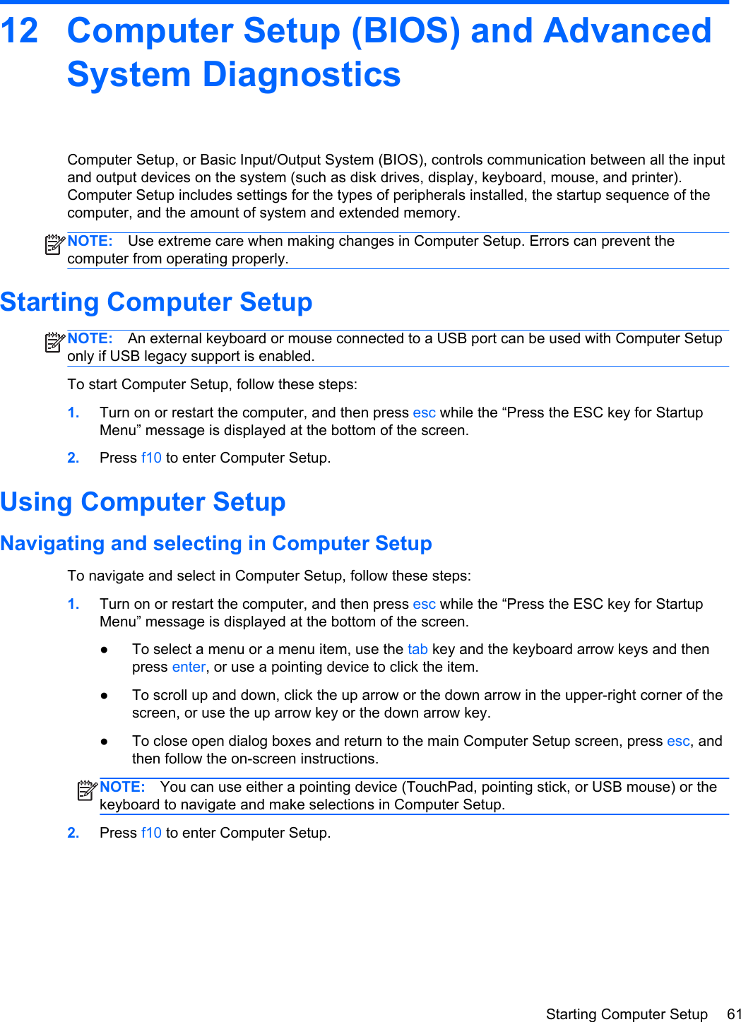 Hp Zbook 15 Mobile Workstation Users Manual