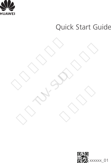 Huawei Technologies AGS2-W19 Tablet User Manual Quick Start
