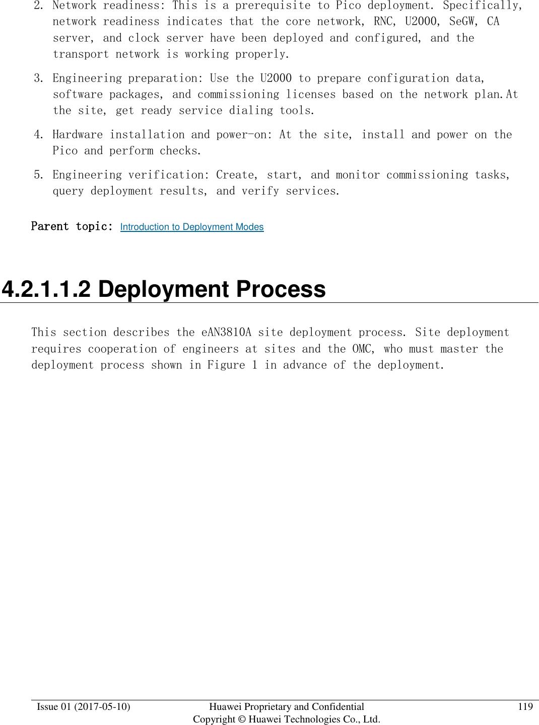 Huawei Technologies EAN3810A eLTE-U Airnode User Manual