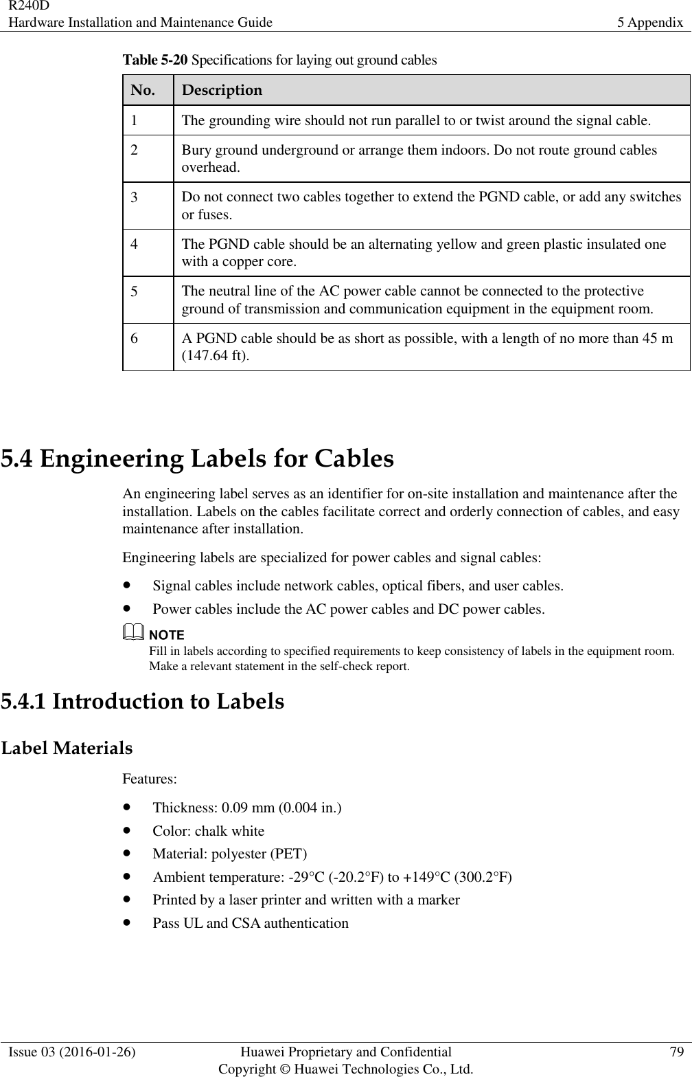 Documentation And Labeling Wire And Cable U2013 Engineering Radio Manual Guide