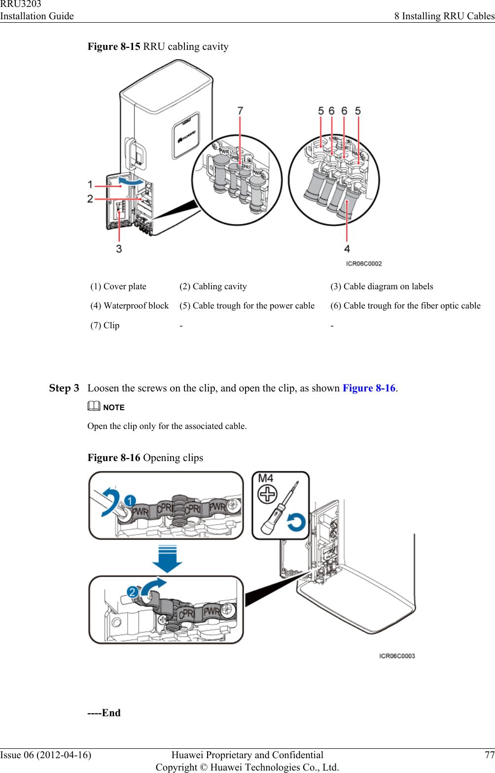 huawei technologies rru3203