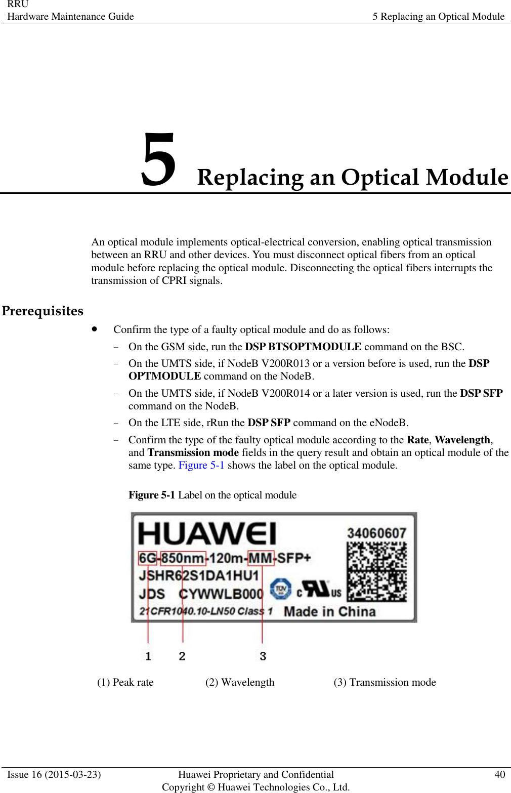 Huawei Technologies RRU3279-2600 Remote Radio Unit of Distributed ...