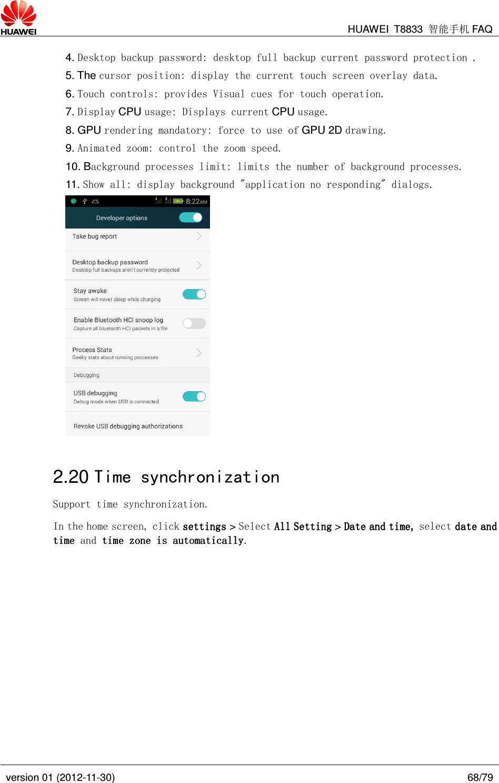 Huawei Y336 U02 FAQ_20150507 D All Product Smartphone Y Series FAQ