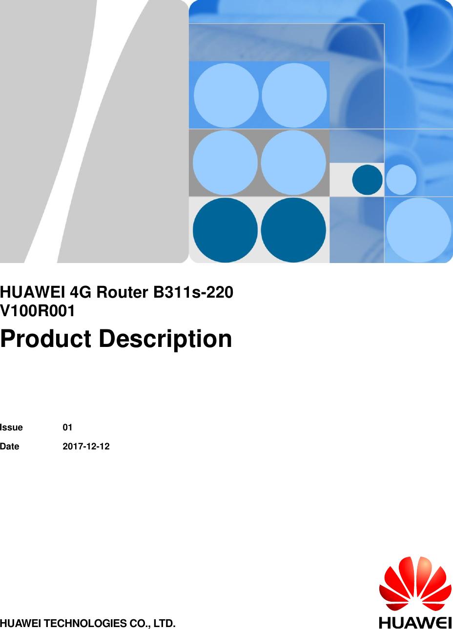 Huawei Product Description B311s 220 (V100R001 01,English) for Egypt
