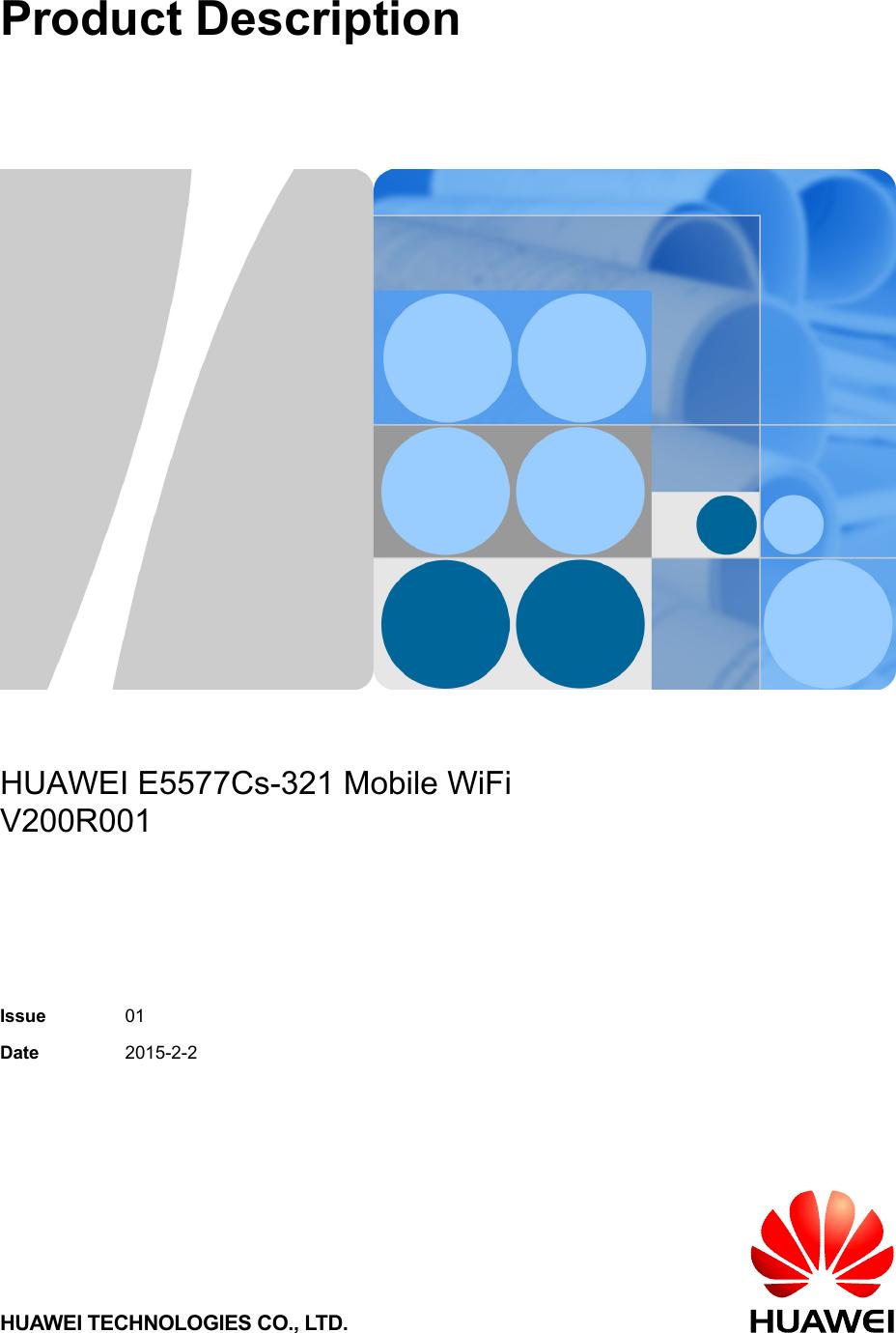 Huawei E5577Cs 321 Mobile WiFi Product Description