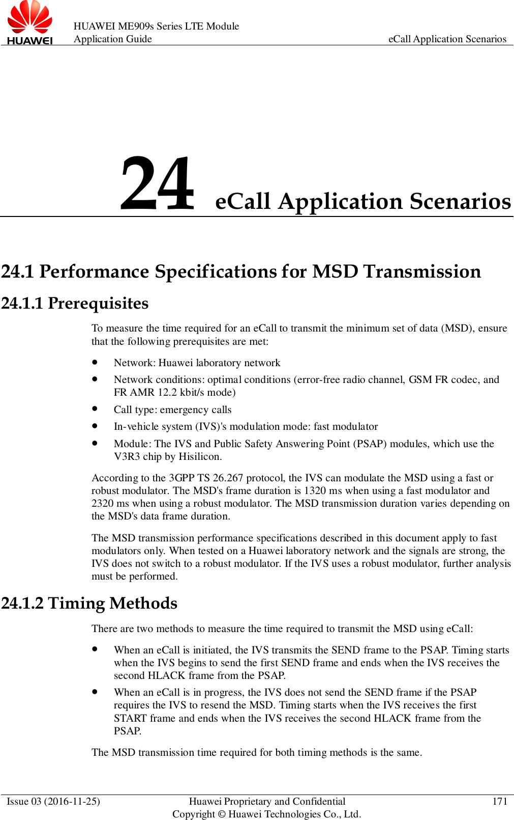 Huawei ME909s Series LTE Module Application Guide (V100R001