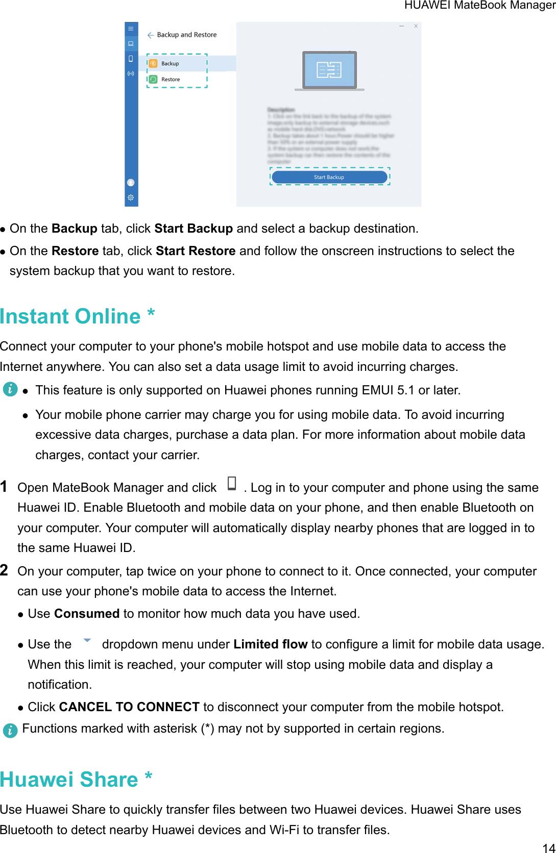 Huawei Mate Book D User Guide (PL W09&W19&W29,01,en us)
