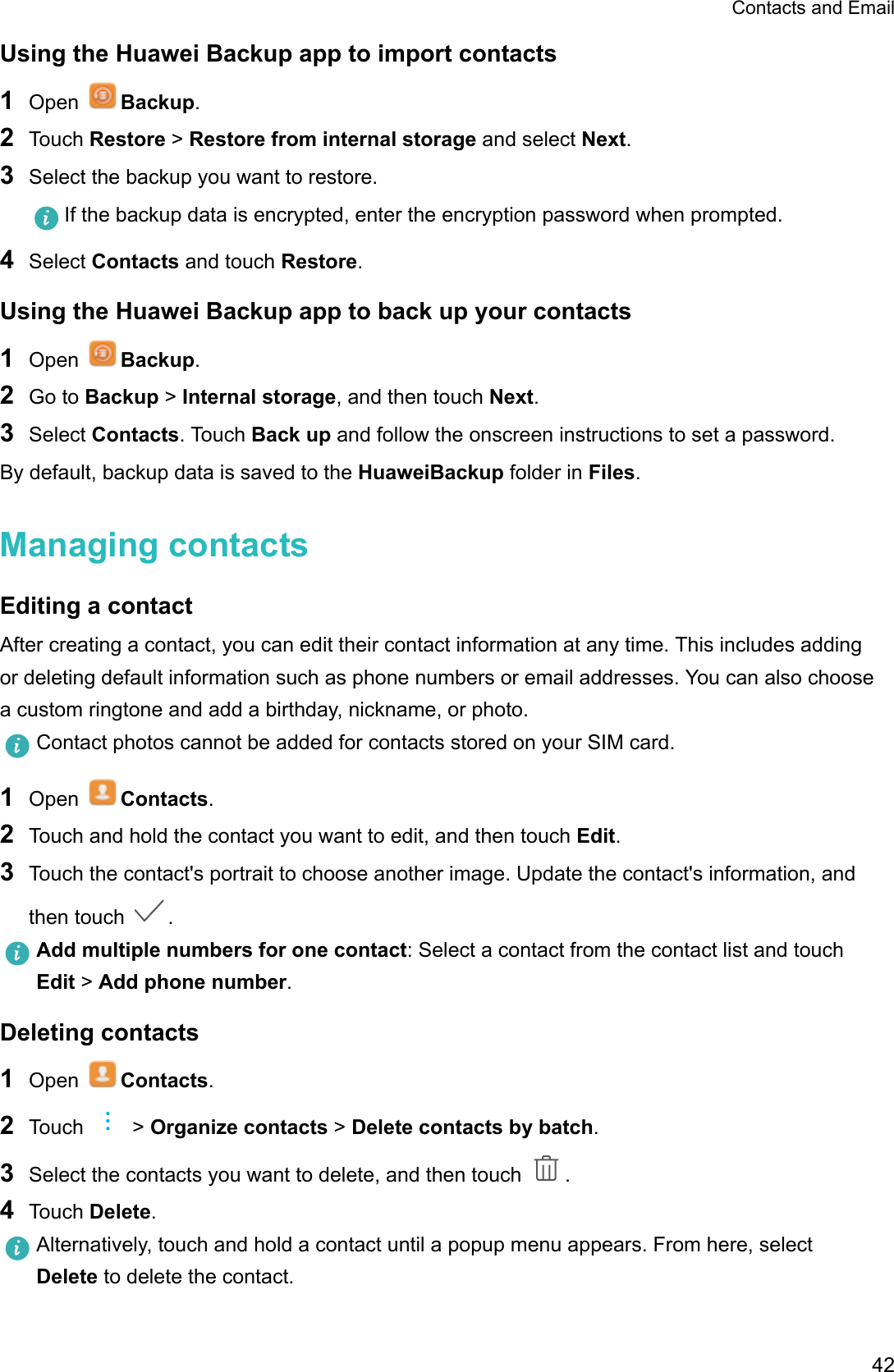 Huawei Email App