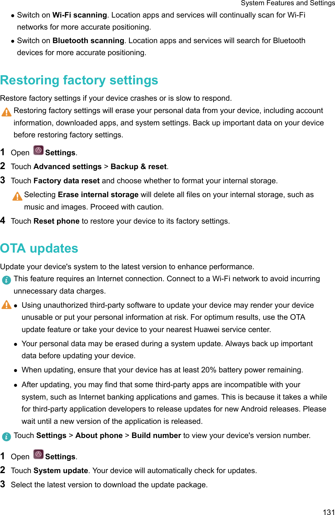 Huawei P10 Lite User Guide (WAS, 01, English)
