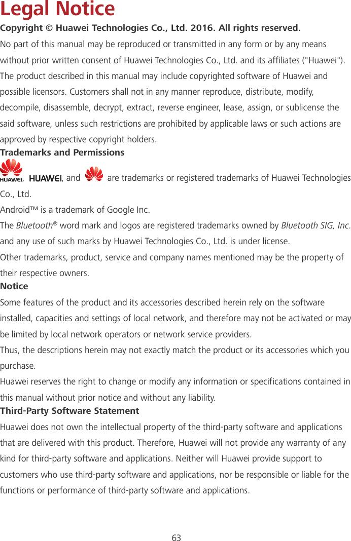 Huawei Cover Y3II User Guide LUA U22 01 English