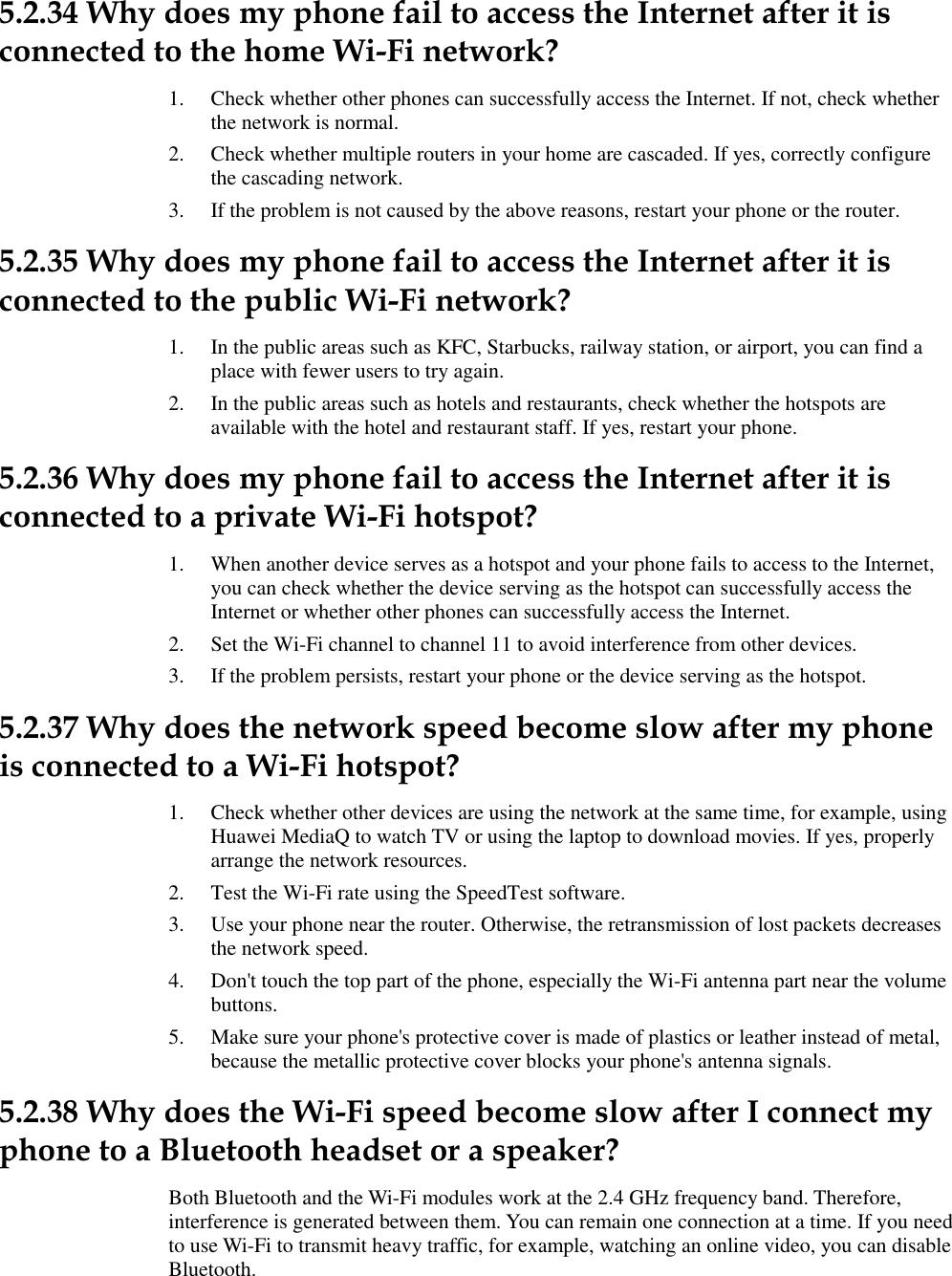 Huawei Y538 Smartphone FAQs V3 0