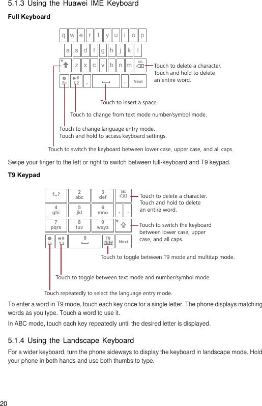 T9 Keyboard Huawei