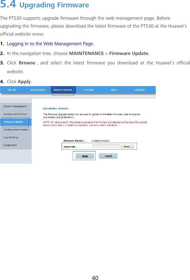 Huawei PT530 User Guide(PT530 12, 01, EN)