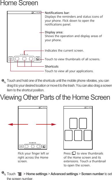 Huawei U8650 1 Sonic Quick Start Manual