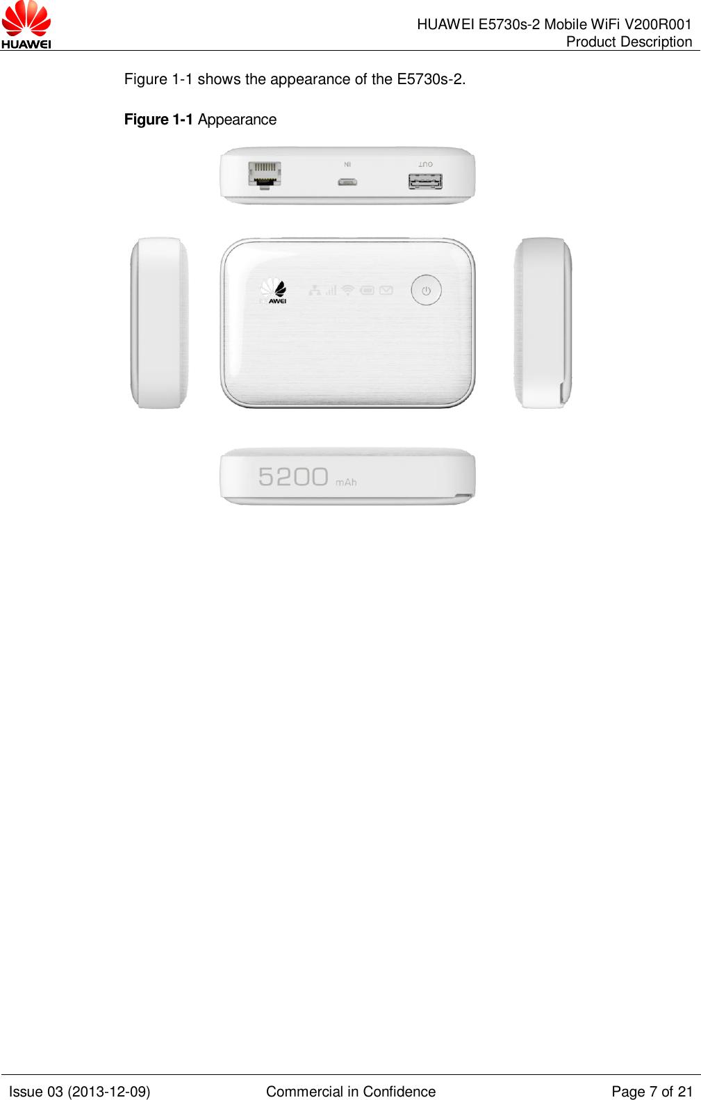 Huawei [ 使用工具条红框内的按钮,设置封面及页眉页脚的文档说明信息