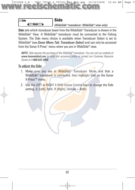 Humminbird Gps Receiver 787C2 Users Manual 531528 1_A