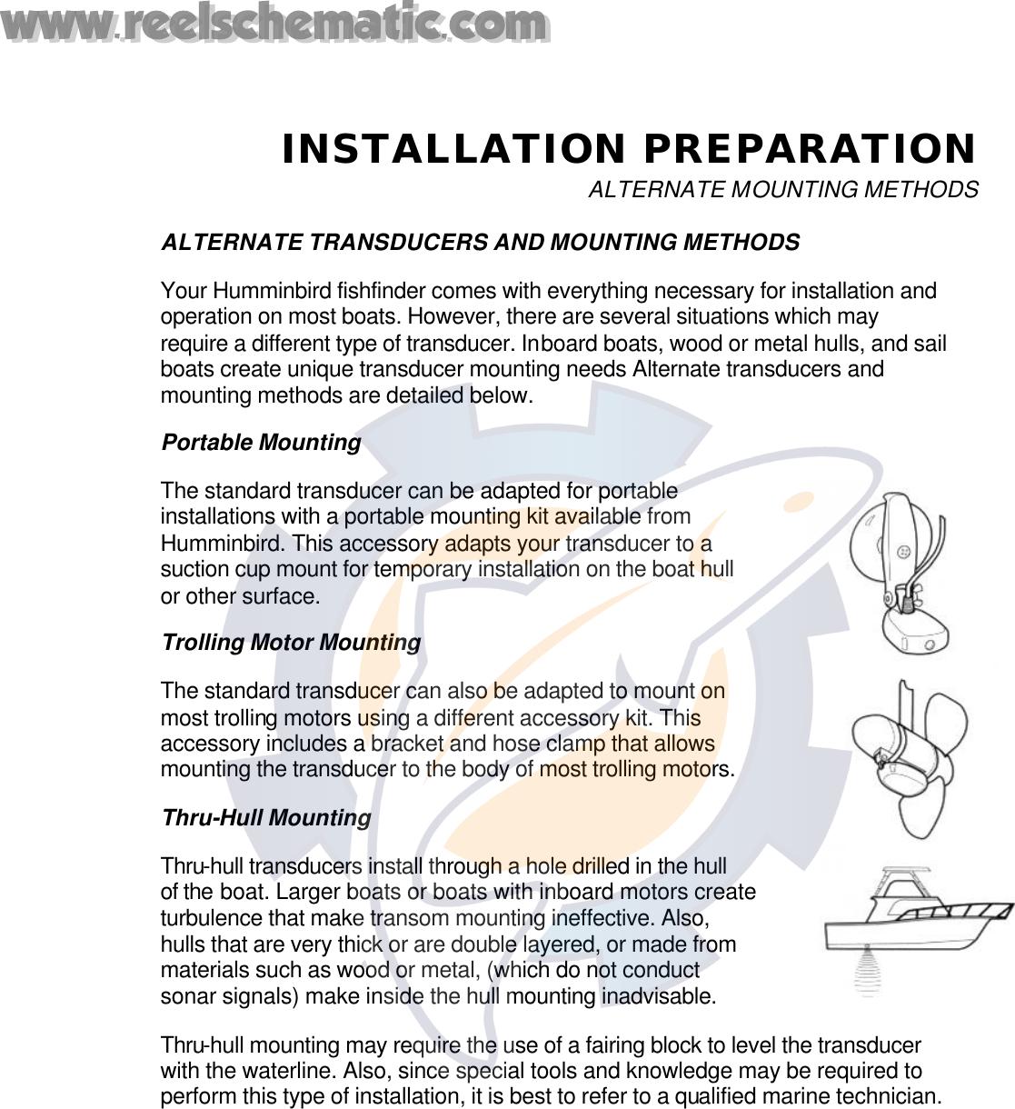 Humminbird Tri Beam 400Tx Users Manual