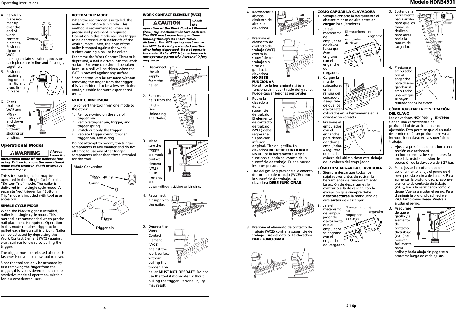 Husky Hdn34901 Users Manual