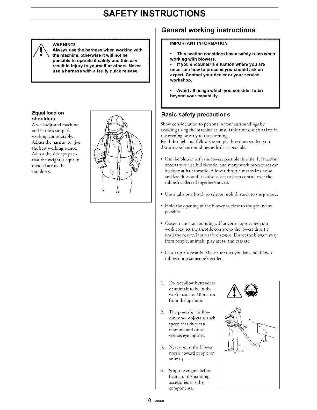 husqvarna bt125 manual