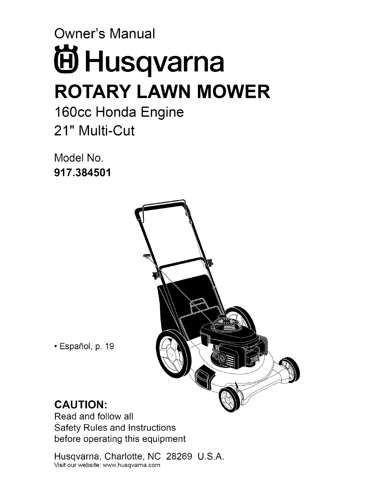 husqvarna 917384501 user manual lawn mower manuals and guides l0704326 rh  usermanual wiki husqvarna lawn mower parts near me husqvarna lawn mower  parts ...